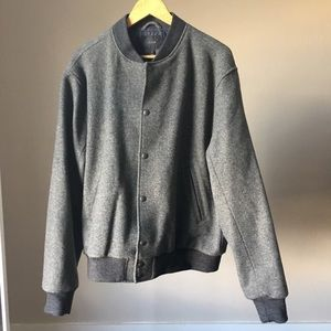 Jcrew Stadium Wool Jacket